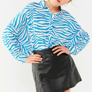 NWT Urban Outfitters Co Operative Bonjour Blouse